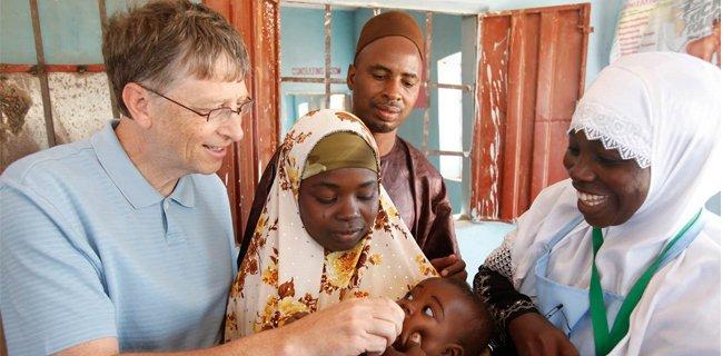 Wah, Bill Gates Bayar Hutang Nigeria Sebesar Rp 950 Miliar