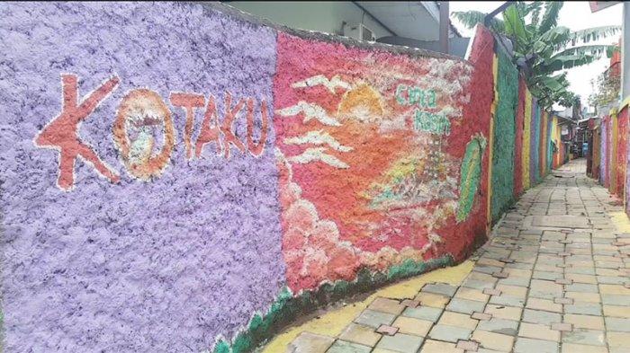 Kampung Warna-Warni di Bekasi