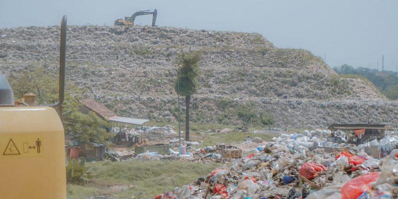 Lokasi Pembuangan Sampah TPST Bantargebang